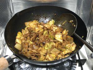CookDo きょうの大皿 回鍋肉 調理