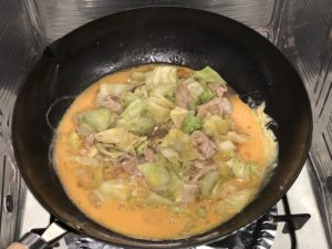 CookDo 今日の大皿 とろ卵豚キャベツ