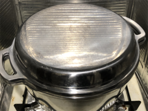 無水鍋 カレー