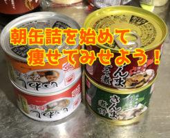 缶詰 朝缶詰 鰯 秋刀魚