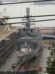 呉 歴史の見える丘 護衛艦