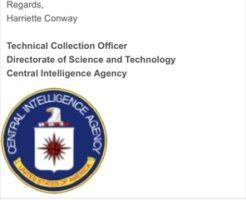 迷惑メール 架空請求 CIA