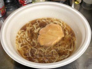 日清 行列のできる店のラーメン 厚切り叉焼麺 鶏ガラ醤油